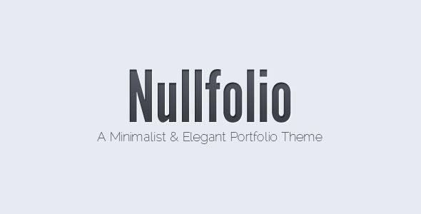 Nullfolio - Portfolio Creative Template. Live Preview & Download: http://themeforest.net/item/nullfolio/406770?s_rank=701&ref=yinkira