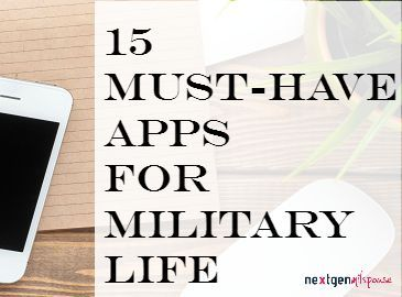15 Must-Have Apps for Every Day of Your Military Life (scheduled via http://www.tailwindapp.com?utm_source=pinterest&utm_medium=twpin&utm_content=post15100206&utm_campaign=scheduler_attribution)