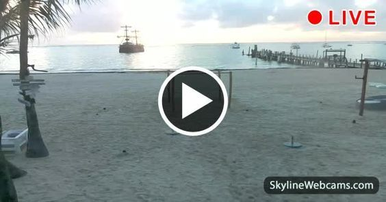Live #webcam from Punta Cana in the Domenican Repubblic! Click to watch it live! #travel #PuntaCana