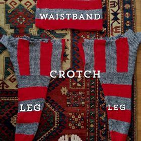 a year of handmade: diy sweater pants