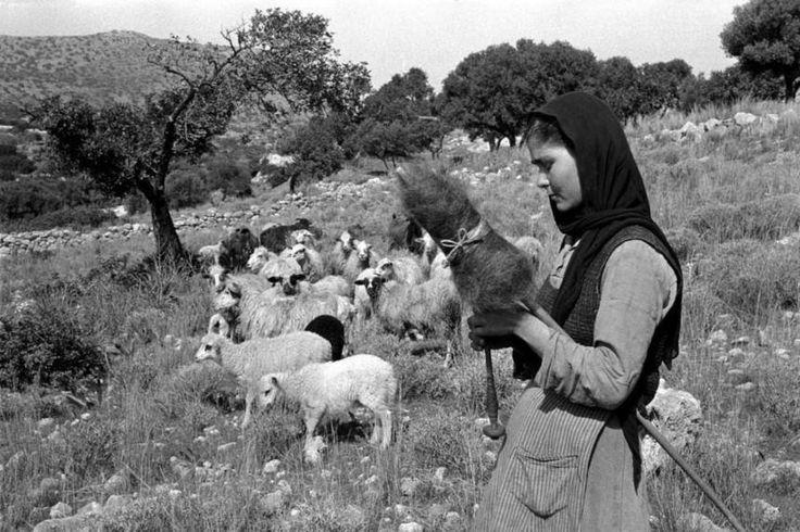 Κρήτη 1955,φωτογραφία του Erich Lessing