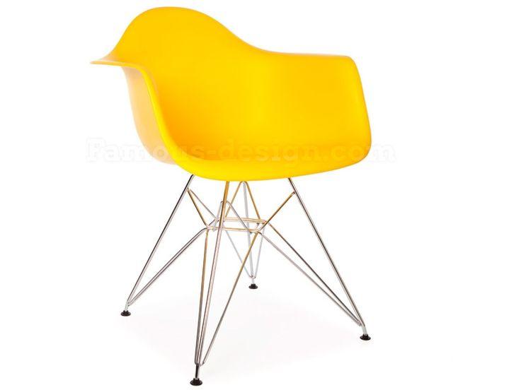 Sedia DAR (Charles Eames) - Giallo
