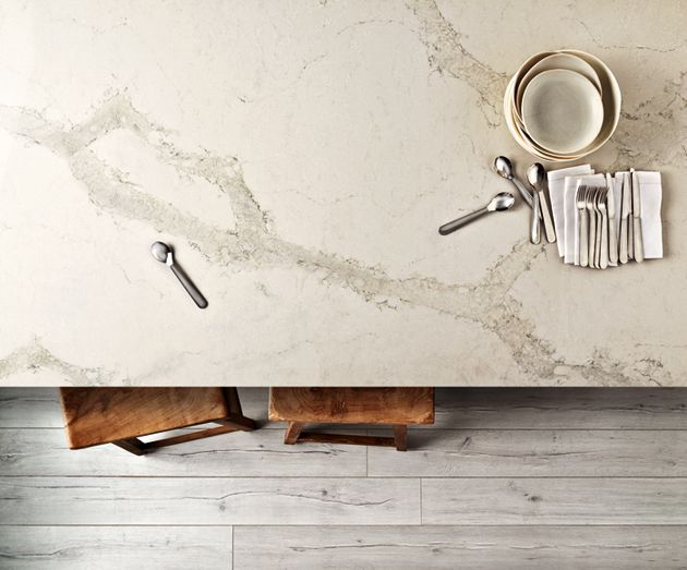 Caesarstone's New Color Calacatta Nuvo