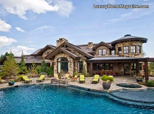 Resort Like Backyard In Bend Or Luxury Homes House