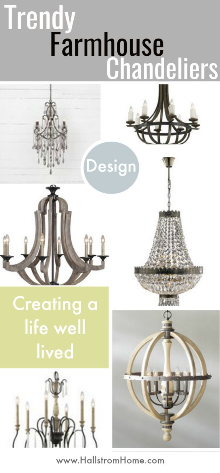 568 best lighting images on pinterest chandeliers craft and homes 13 gorgeous farmhouse chandeliers for every home arubaitofo Choice Image