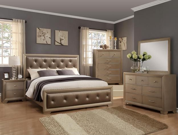 Crown Mark B1700 Queen Bedroom Suite Bedroomfurnituresetsking