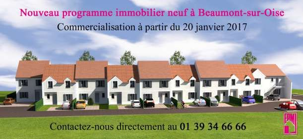 Média réf. 2952 (1/2): Nouveau programme immobilier neuf à Beaumont-sur-Oise