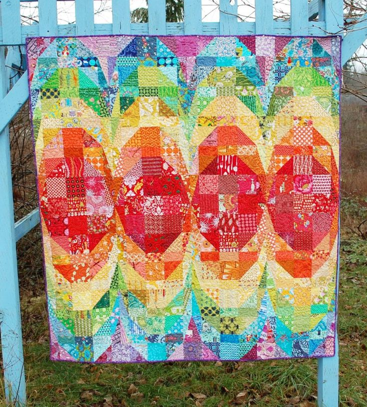 Boom quilt, on BlueNickelStudios.com