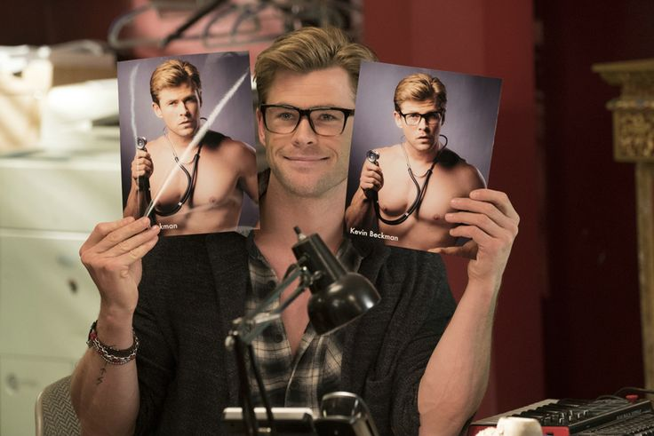 GHOSTBUSTERS 2016 - starring Chris Hemsworth As Trainee Kevin - Sony Pictures - kulturmaterial