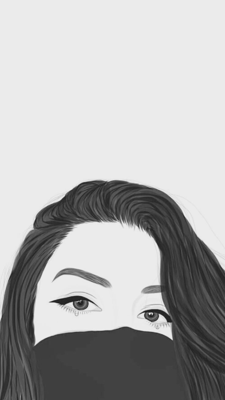 Iphone X Wallpaper Outline Wallpaper Emo Aesthetic Tumblr Cute Love Girl