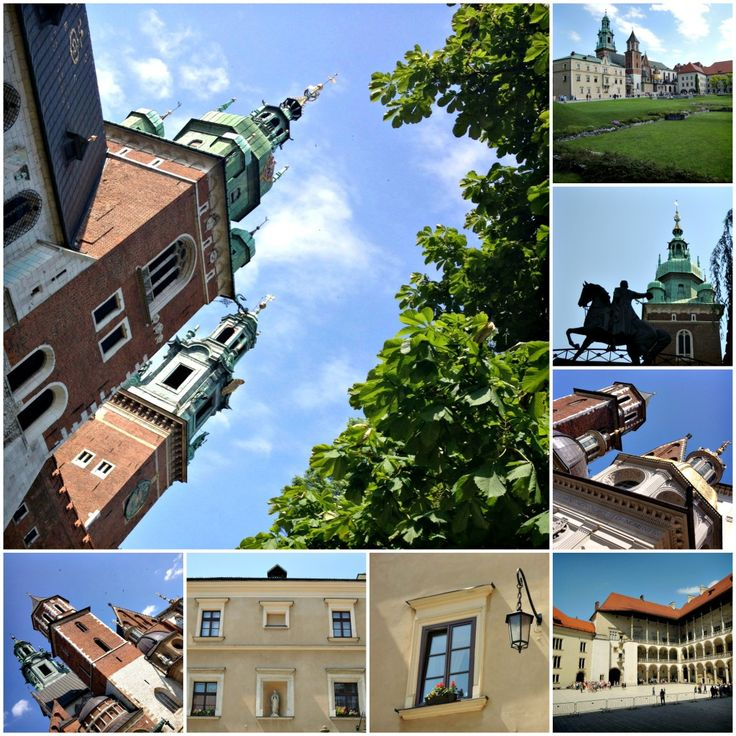 Feeling like a princess in Krakow at Wawel Castle