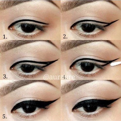 L'eye-liner pour les nulles  (tutos   astuces)                              …