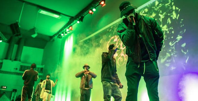 Section Boyz performing at GRM Rated Awards. The popular UK rap collective, Section Boyz. Deepee, Inch, Knine, Sleeks, Swift and Littlez. 6 rappers who are swiftly taking over the UK music scene.