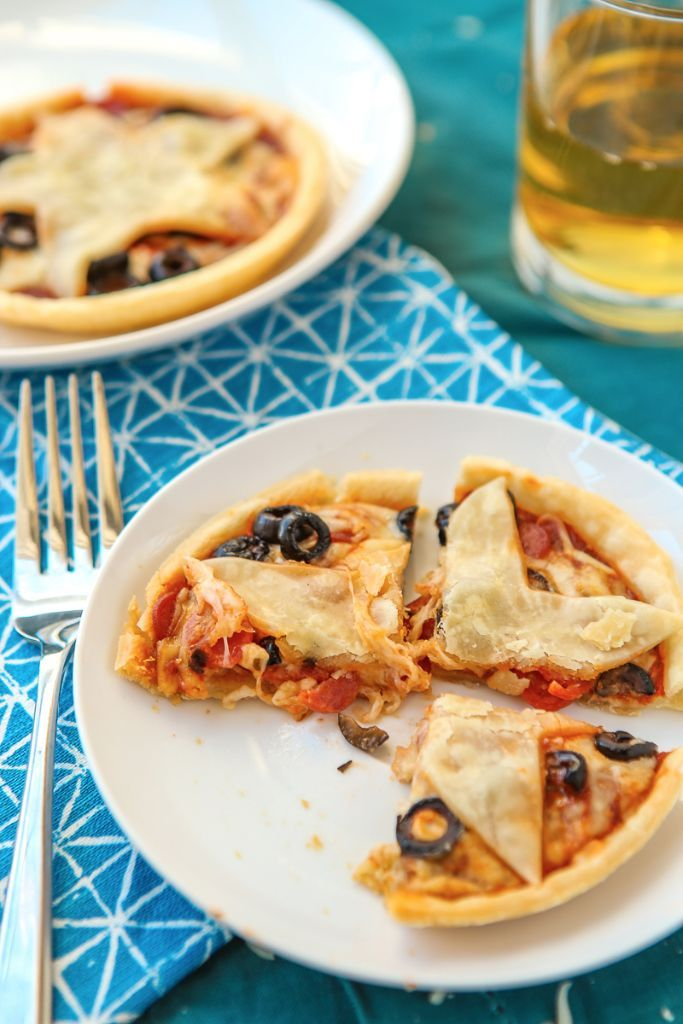 These mini pizza pies are perfect for anyone who loves gilmore girls