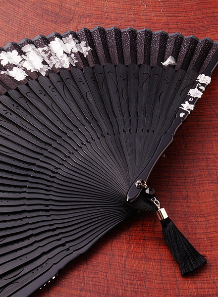 Folding fan, we had a couple of these beautiful