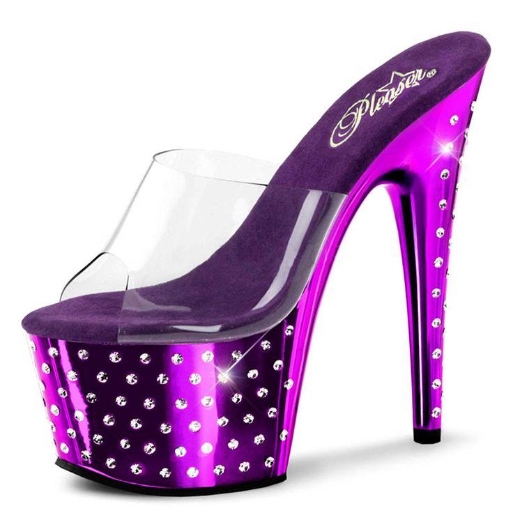 1000  ideas about Purple High Heels on Pinterest  High heels