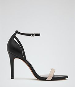 Womens Biscuit Single Strap Sandals - Reiss Malva