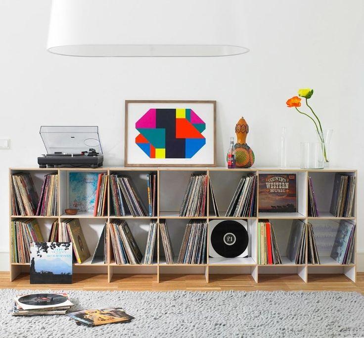 14 best furniture for vinyl records record storage images on pinterest vinyl records record. Black Bedroom Furniture Sets. Home Design Ideas