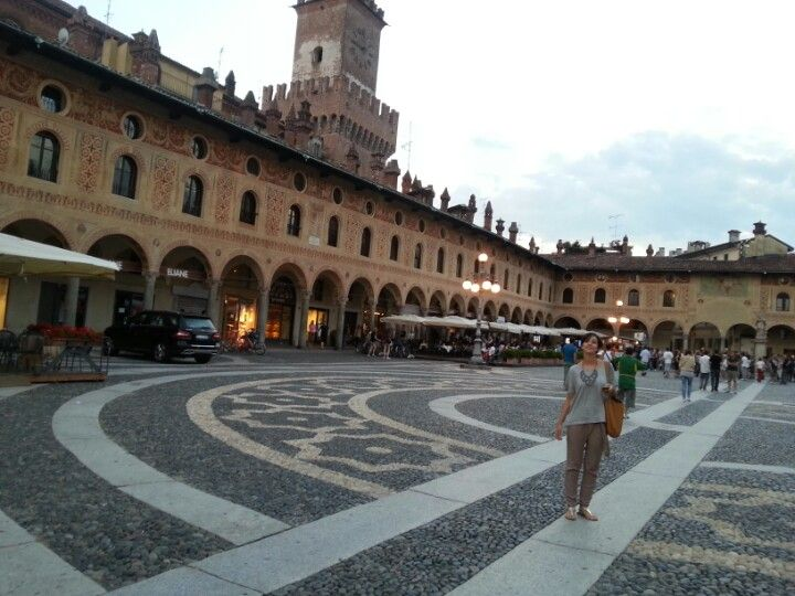 Castello Sforzesco nel Vigevano, Lombardia