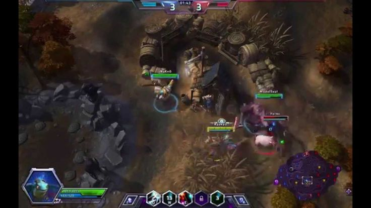 Heroes of the Storm - Brightwing Gameplay #1