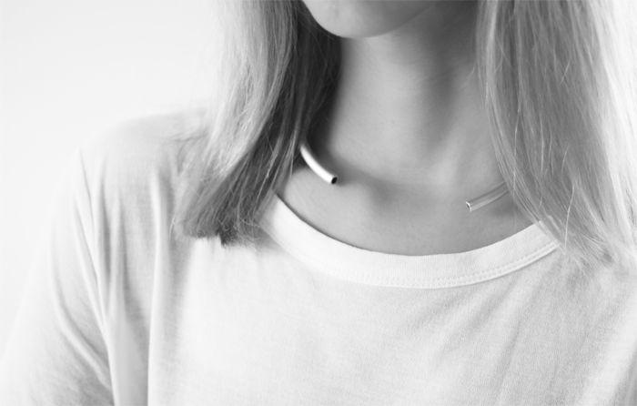 DIY Minimalistic Choker Necklace Tutorial