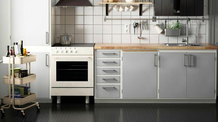 cucina-piccola-elettrodomestici-stile-vintage-colore-grigio-pavimento-lucido