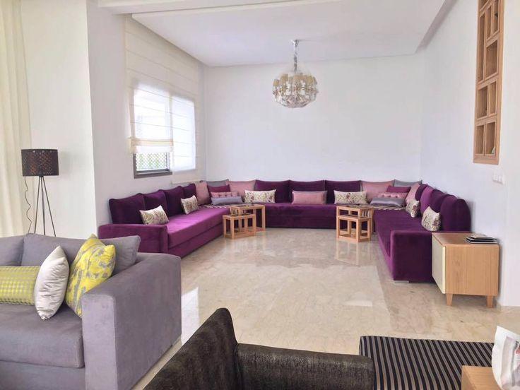 Stunning Salon Marocain Mauve Et Gris Ideas - House Design ...