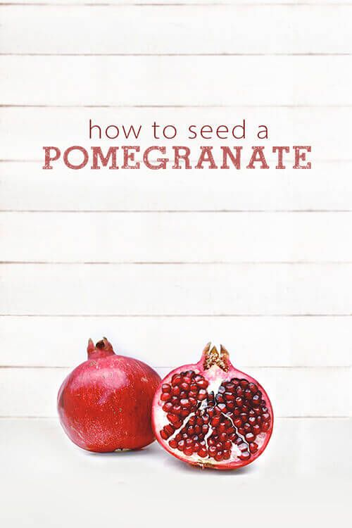 Don't be intimidated. This step-by-step tutorial will show you how to seed a pomegranate easily without getting cracked skin or stains on your clothes!