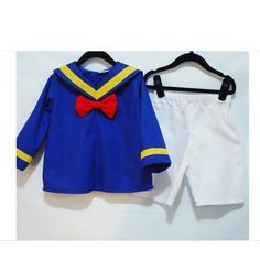 Donald Duck Set Donald Duck Costume Disney by LoopsyBaby, $34.00