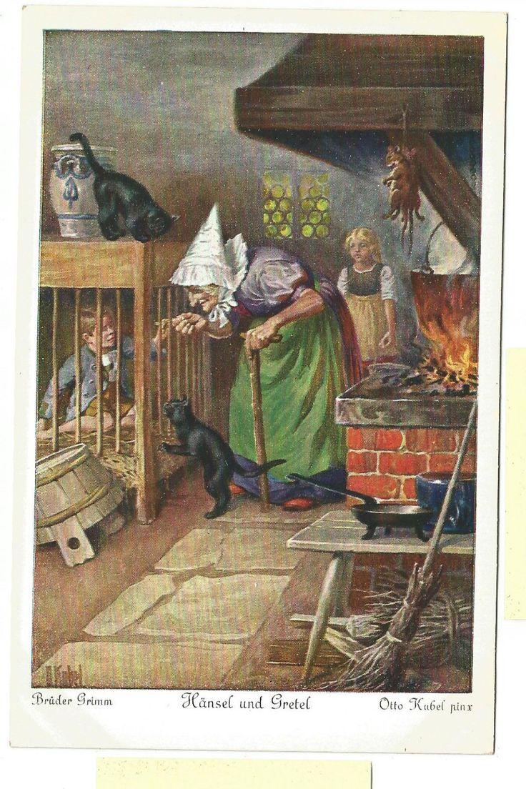 O. Kubel's  Hänsel Und Gretel illustration | eBay