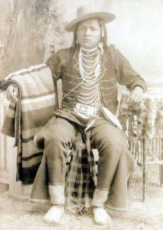 Мужчина Не Персе, 1897 год.