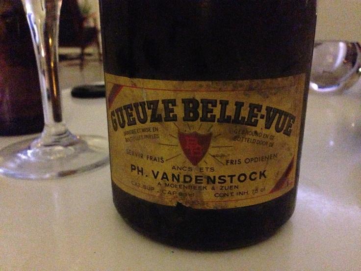Gueuze Vandenstock - + 30y old - drinkbaar!