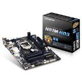 #Informatica #10: Gigabyte Mod 1150 GBT H81M-HD3 (MATX/H81) Scheda Madre, Nero