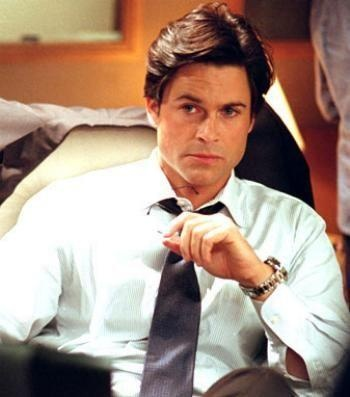 "Rob Lowe in ""West Wing"""