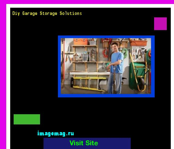 Diy Garage Storage Solutions 073731 - The Best Image Search