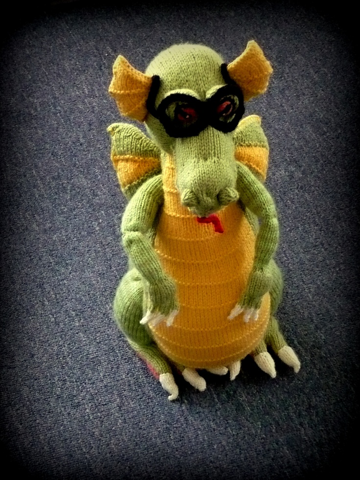 Knitted Dragon...