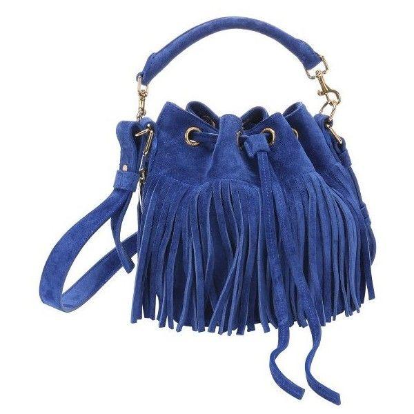 ysl city bag - emmanuelle small suede fringe bag, black