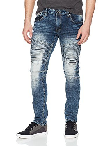 bb9ac3893b3 Southpole Mens Slim Straight Stretch Ripped Biker Denim  jeans  pants   mensjeans  clothing  fashion  fashionjeans