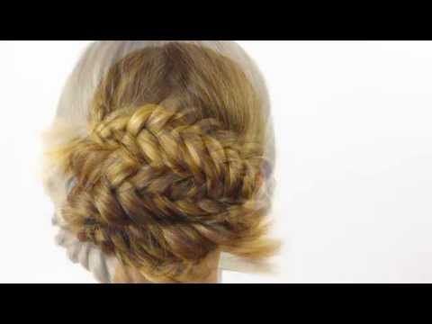 Braided Bun Tutorial - YouTube This step by step is a hairstyle inspired by the look I created for the character Mykelle on Once I Was A Beehive. This is a sophisticated, more weareable updo.