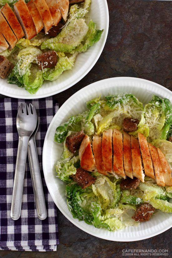 Tavuklu Sezar Salatası 4