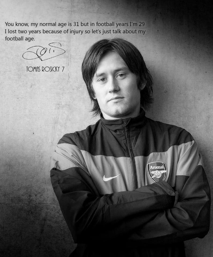 tomas rosicky quotes