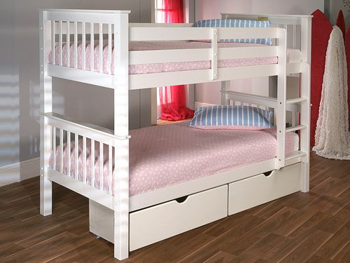 Pavo White Bunk Bed