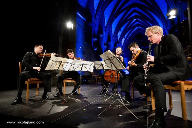 The Jerusalem Quartet and Martin Fröst, delighting their audience at the #Stavanger's Cathedral, #regionstavanger