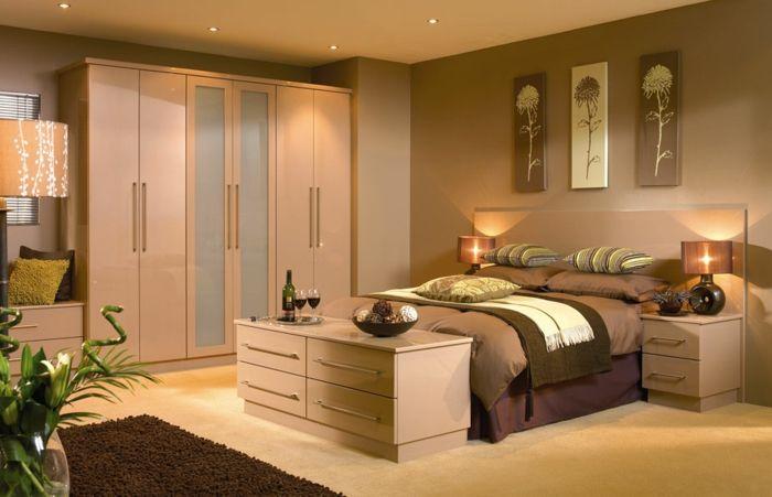 Moderne Zimmerfarben Ideen In 150 Unikalen Fotos Fitted Bedroom