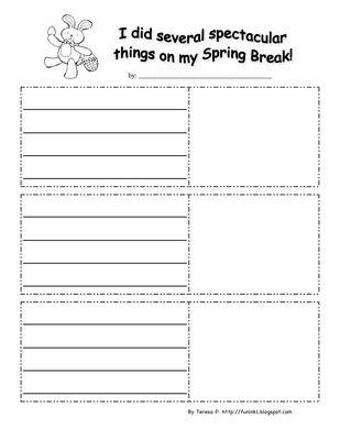 Essay about my spring break