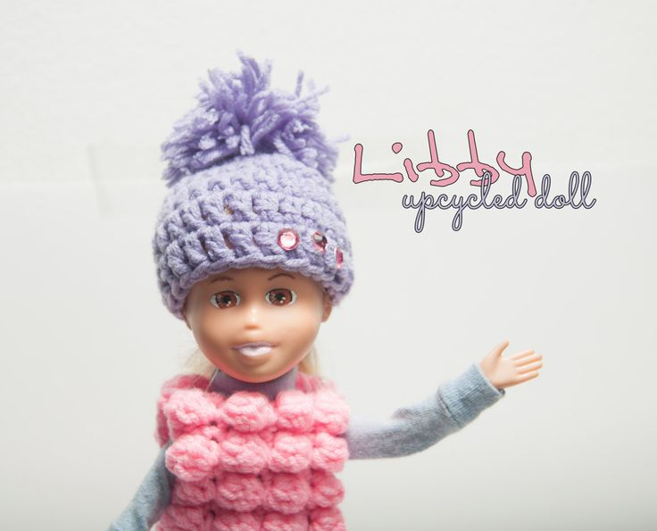 Excited to share the latest addition to my #etsy shop: Upcycled doll Libby - handmade custom doll, OOAK doll, makeunder dolls, upcycled unique doll, OOAK, doll, change doll