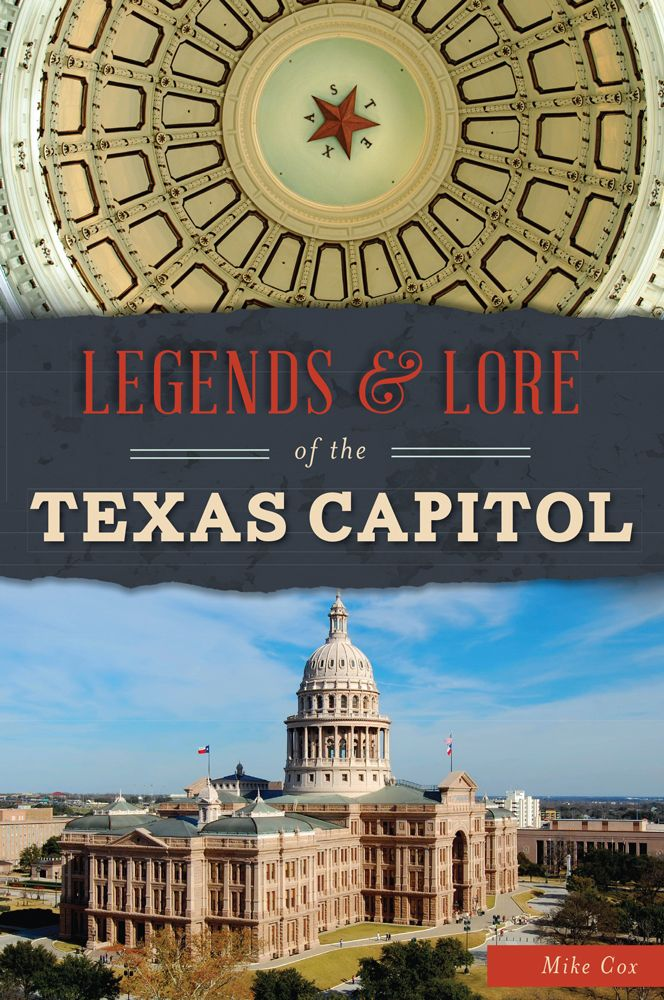 Going to Texas Book Festival this weekend? Meet Mike Cox at Texas Capitol Visitors Center Sat., 11 AM. signing Legends and Lore of the Texas Capitol.  #TxBookFest