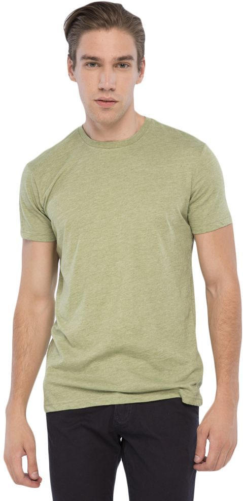 bb9a011356a2 Buy Ravin Olive Round Neck T-Shirt For Men - Tops