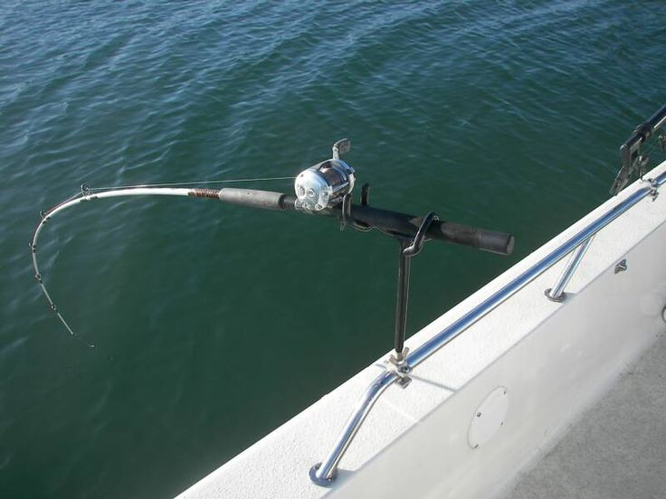 Driftmaster fight the fish not the rod holder stuff we for Crappie fishing boats