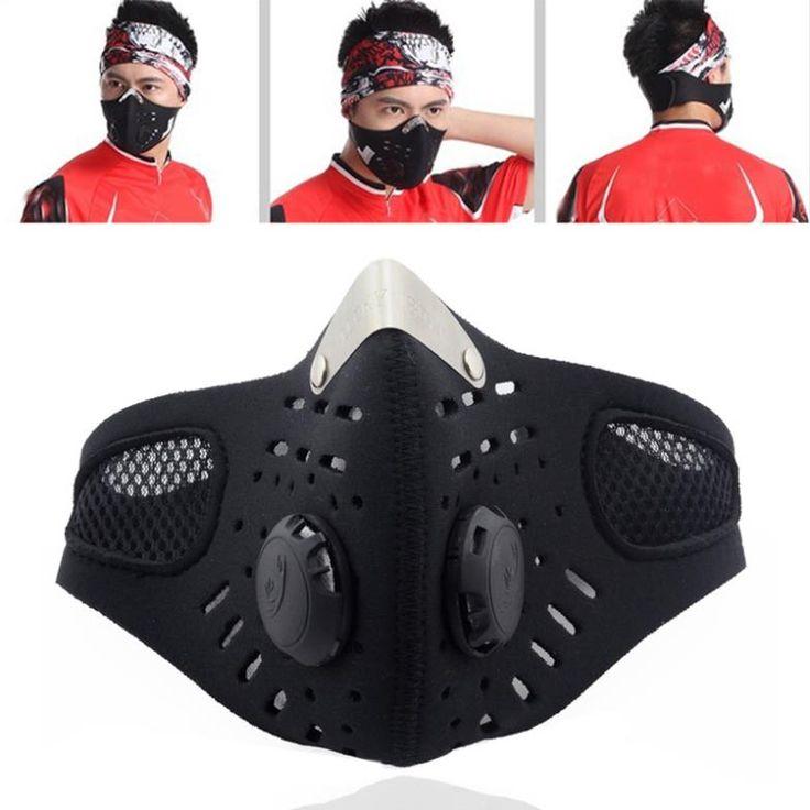 Encontrar Más Cycling Face Mask Información acerca de Media cara bicicleta a prueba de polvo de la motocicleta cara del viento máscara con filtro, la capacitación envío gratis O3 TK0964, alta calidad máscaras de media, China máscara de soldadura Proveedores, barato máscara de algodón de funinbuy en Aliexpress.com